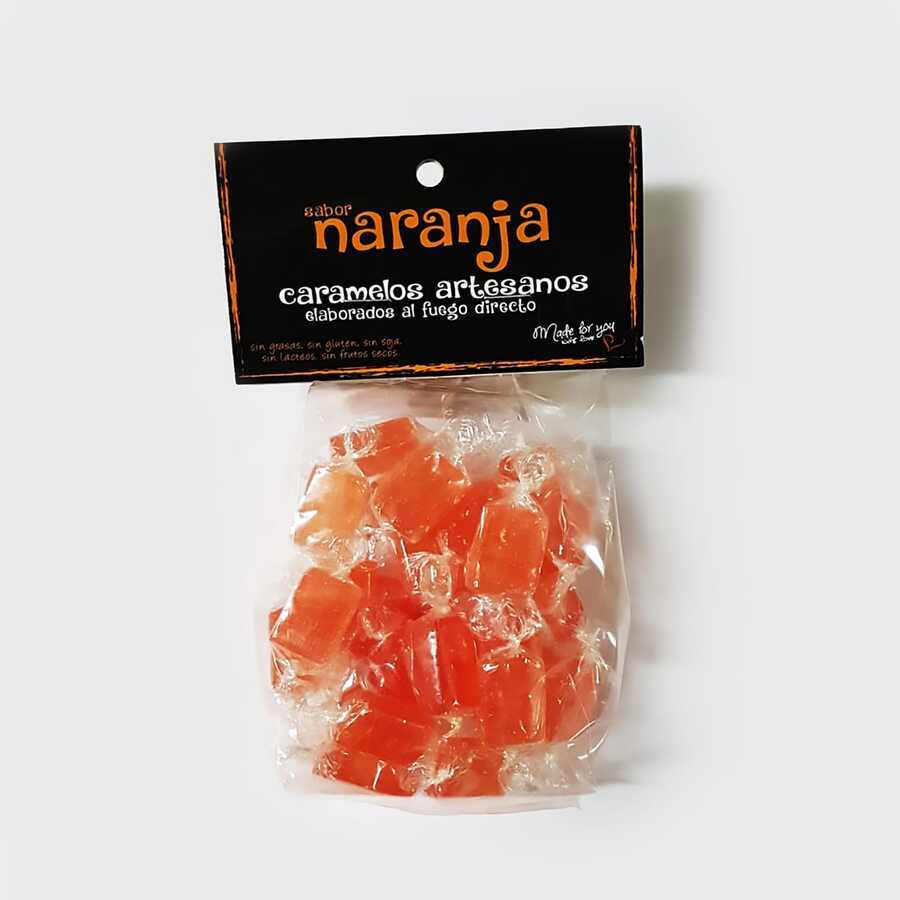 Artisan Orange Candies