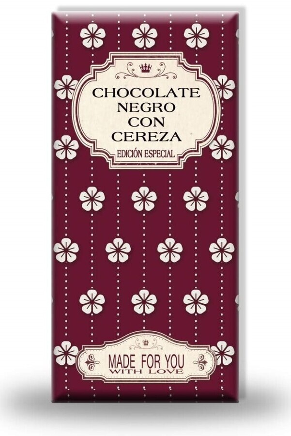 Chocolate Negro con Cereza